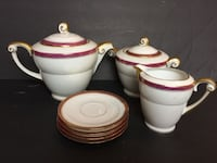 Tea Set 7 Pieces GEORGES BOYER Brand Catharpin
