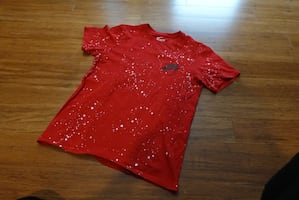 Nike air red t shirt men size S