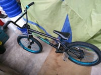 Black and electric blue verde bmx  Mississauga, L5A