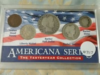 Americana Series Yesteryear Coin Collection
