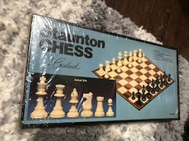 Unopened Chess set from 1960's