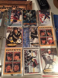 ice hockey trading card collections
