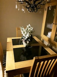 Oak Table and Chairs.  Mississauga, L5G 4J5