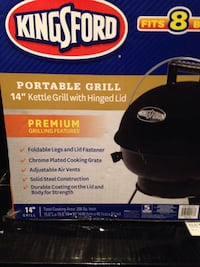 Brand new portable KingSFord grill Abilene, 79603