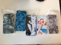 iPhone 5 and 4 cases. Brand new  Brampton, L6Y 4R6