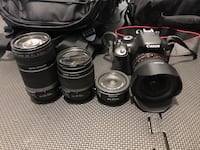 Cannon Rebel T2i with extras Minot