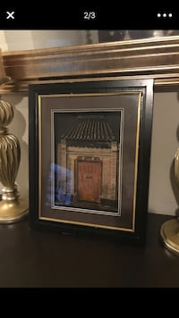 brown wooden framed painting of brown wooden house New York, 11207