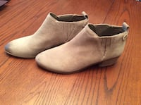 Ladies Tan suede boots Whitchurch-Stouffville, L4A 3G7