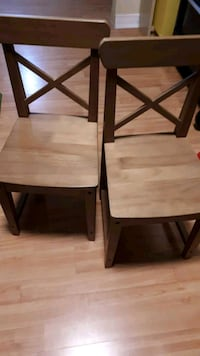 two Ikea children chairs Laval, H7T 1S4