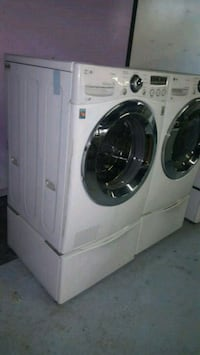 LG washers and dryer set
