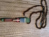 Seed bead necklace Bennington, 03442