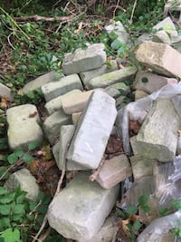 Beautiful stones for retaining  wall , fireplace or walkway .