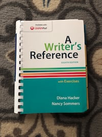 A Writer's Reference 8th edition Woodbury, 10917