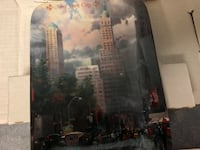 New York collector plate - by Thomas Kincaid - in orig box 3730 km