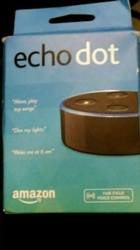 Amazon echo dot Bluetooth Wi-Fi alexa Anchorage, 99507
