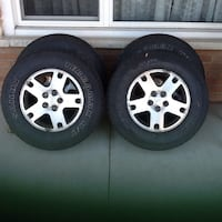 """16"""" Ford alloys with all season Tires Mississauga, L4T 1Z8"""