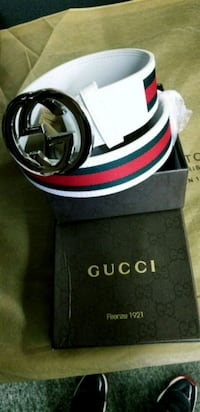 black Gucci leather belt with box Fresno, 93702