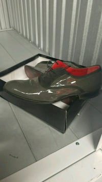 pair of black leather dress shoes Bronx, 10466