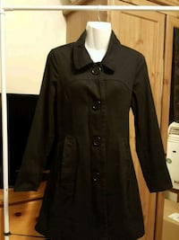 Black coat for women small size 546 km