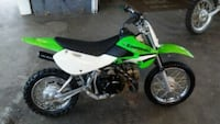 green and white Kawasaki motocross dirt bike Beckley, 25801
