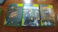 All 3 LOTR Games for XBOX 360 Bethesda, 20814