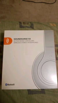 SOUNDSURGE 55 Active noice cancelling Headphone Brand new In box