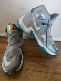 Nike LeBron James size 13 mens shoes barely worn ,