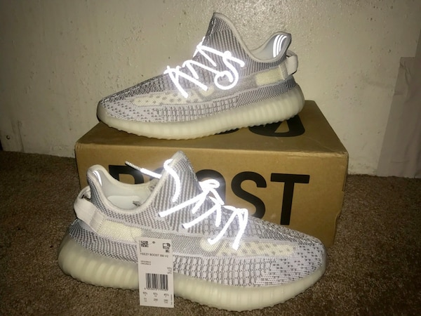 watch 76e73 25c97 Adidas Yeezy Boost 350 Static V2 Reflective lace