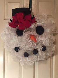 Snowman Wreath Inwood, 25428