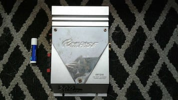 Rampage Car Stereo Amp