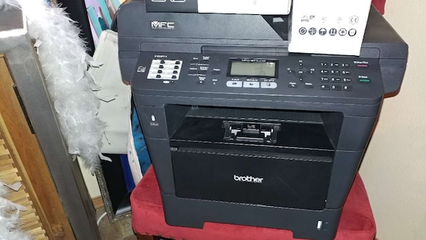 Brother Printer, scanner, Fax, with 5 ink