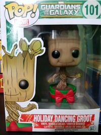 Pop! Marvel Guardians of The Galaxy 101 Holiday Dancing Groot vinyl figure with box
