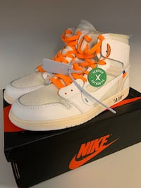 Off white Air Jordan 1  , T8T 0A8