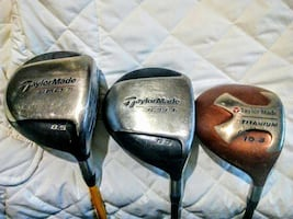 3 TaylorMade Drivers