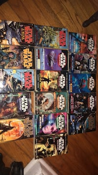 16 Star Wars books. Asking 30 for all 16, that's under 2$ a book! Great books! 290 mi