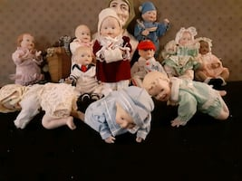 Porcelain baby's collection
