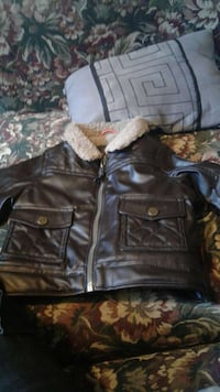 Toddler leather jacket with fur Capitol Heights, 20743