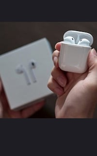 New AirPod twinset with charging dock not an Apple product but comparable product good sound  Toronto, M9L 2H8
