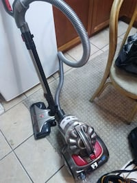 Hoover black and gray canister vacuum cleaner Kelowna, V1Y