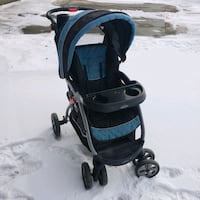 Beautiful n strong easy to fold stroller