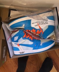 Off white Chicago blue 1 authentic 549 km