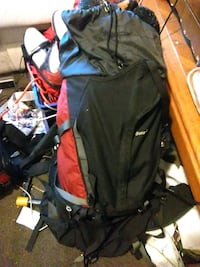 black and red hiking backpack San Francisco, 94103