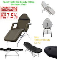 SPA/Facial/Eyelash Table/bed, Hydraulic height, From $170!! Toronto