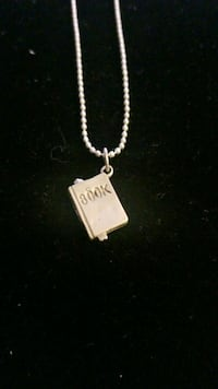 Sterling silver necklace with charm  Hyattsville, 20784