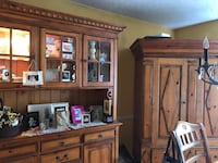 DREXEL HERITAGE armoire, table, chairs, end table Dumont, 07628