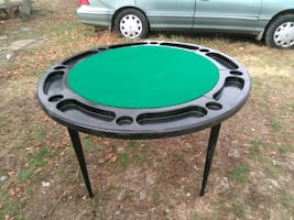 8 player poker/card table