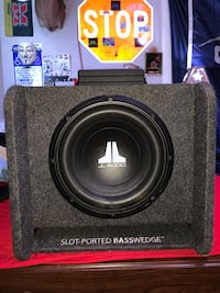 JL Audio CP110-W0v3 subwoofer with Alpine MLV-M250 amp Highland Village, 75077