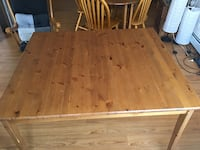 Wood Dining table and chairs  Calgary, T2B 3G6