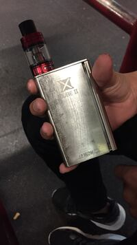 stainless steel X Cube 2 box mod