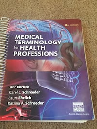 Intro to medical terminology book. Like new Las Cruces, 88001